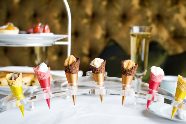 "<p>Ice cream makes for the perfect summer treat. <a rel=""nofollow"" href=""https://www.dorchestercollection.com/en/london/the-dorchester/restaurant-bars/afternoon-tea/"">The Dorchester</a> has gone one step further by incorporating the ice-cold delight into their brand new afternoon tea. As well as the usual sweet and savoury selection, you can enjoy mini cones full of unusual ice cream flavours and fruity sorbets. Available until 31 August.<br /><i>[Photo: The Dorchester Collection]</i> </p>"