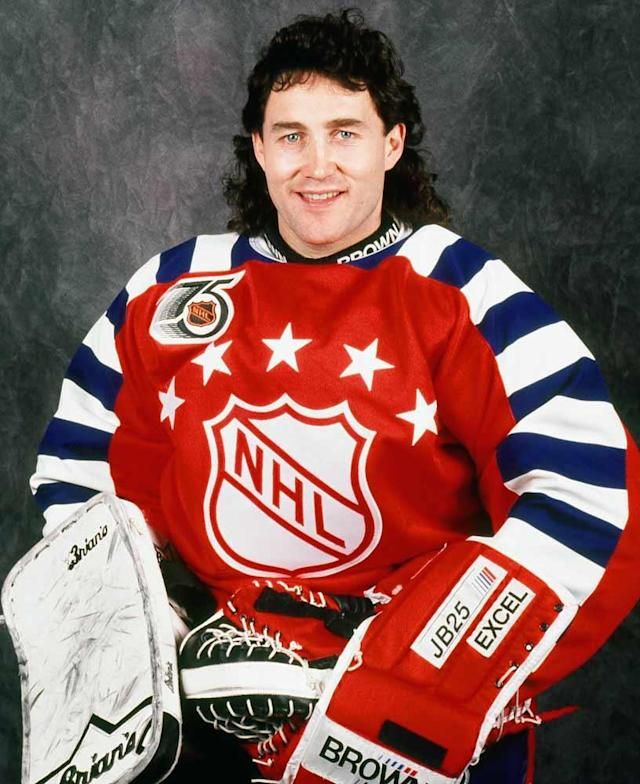 <p>Expectations were high for Belfour, who signed as a free agent after leading North Dakota to a national championship 1987. He did not disappoint. The Eagle spent seven seasons in Chicago, picking up a pair of Vezina trophies before moving on to Dallas where he won the Stanley Cup in 1999. He won 484 games during his career, ranking third on the all-time list, and was a first-ballot Hall of Famer.</p>