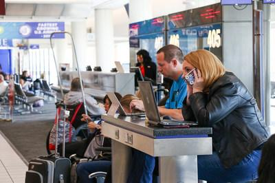 Ontario International Airport saw more double-digit growth in passenger volumes during January.