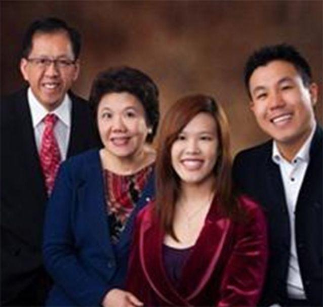 Curtis Cheng pictured with his family. Photo: NSW Police