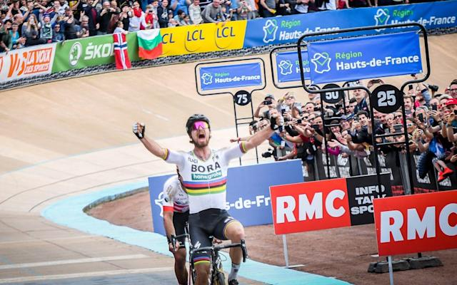 Peter Sagan won last year's Paris-Roubaix, his first at the race nicknamedthe 'Hell of the North' - Getty Images Europe