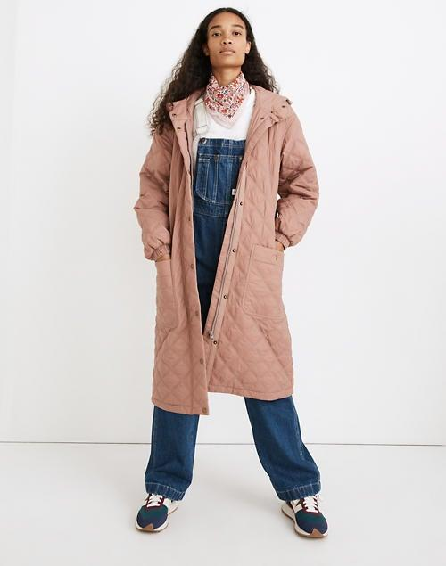 """<br><br><strong>Madewell</strong> Austwell Quilted Coat, $, available at <a href=""""https://go.skimresources.com/?id=30283X879131&url=https%3A%2F%2Fwww.madewell.com%2Faustwell-quilted-coat-NB261.html%3Fcolor%3DPR6324"""" rel=""""nofollow noopener"""" target=""""_blank"""" data-ylk=""""slk:Madewell"""" class=""""link rapid-noclick-resp"""">Madewell</a>"""