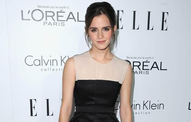 Emma Watson arrives at Elle's 19th Annual Women In Hollywood Celebration at the Four Seasons Hotel on October 15, 2012 in Beverly Hills, Calif. -- Getty Premium