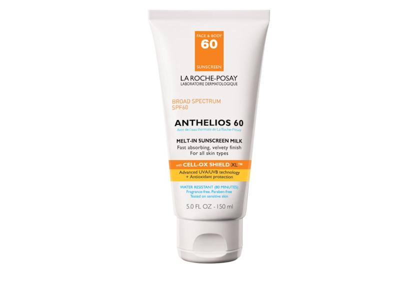 "&ldquo;Broad-spectrum, high-SPF sunscreen is the most effective anti-aging tool,&rdquo; said Sheila Krishna, a board-certified dermatologist who serves on the advisory board for <a href=""https://smartstyletoday.com/"">Smart Style Today</a>.&nbsp; &ldquo;Broad-spectrum means it protects from both UVA and UVB rays, and a high SPF is generally anything over 30.&rdquo; Her personal favorite is La Roche Posay Anthelios Melt-In Sunscreen Milk SPF 60 because &ldquo;it blends in very well into all skin types and doesn&rsquo;t smell strong. It has excellent protection and SPF and stays on for long periods of time.&rdquo; &lt;br&gt;&lt;br&gt;<strong>Find it for $21.99 on </strong><a href=""https://www.dermstore.com/product_Anthelios+MeltIn+Sunscreen+Milk+SPF+60_78961.htm?gclid=Cj0KCQjwjOrtBRCcARIsAEq4rW65AyoXspuk30DdqjhTCUy_lCpR9W12By1f2ogwvnznMj-pd0OtjeAaAlfBEALw_wcB&amp;scid=scplp78961&amp;sc_intid=78961&amp;iv_=__iv_p_1_g_55817445277_c_274396799744_w_aud-261094963626%3Apla-311506078689_n_g_d_c_v__l__t__r_1o1_x_pla_y_6790012_f_online_o_78961_z_US_i_en_j_311506078689_s__e__h_9073503_ii__vi__&amp;utm_source=fro&amp;utm_medium=paid_search&amp;utm_term=skin+care&amp;utm_campaign=100090""><strong>Dermstore</strong></a><strong>.</strong>"