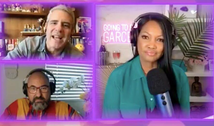 Andy Cohen discussing Real Housewives casting choices on Going to Bed with Garcelle. (Screen capture via Going to Bed with Garcelle/People)