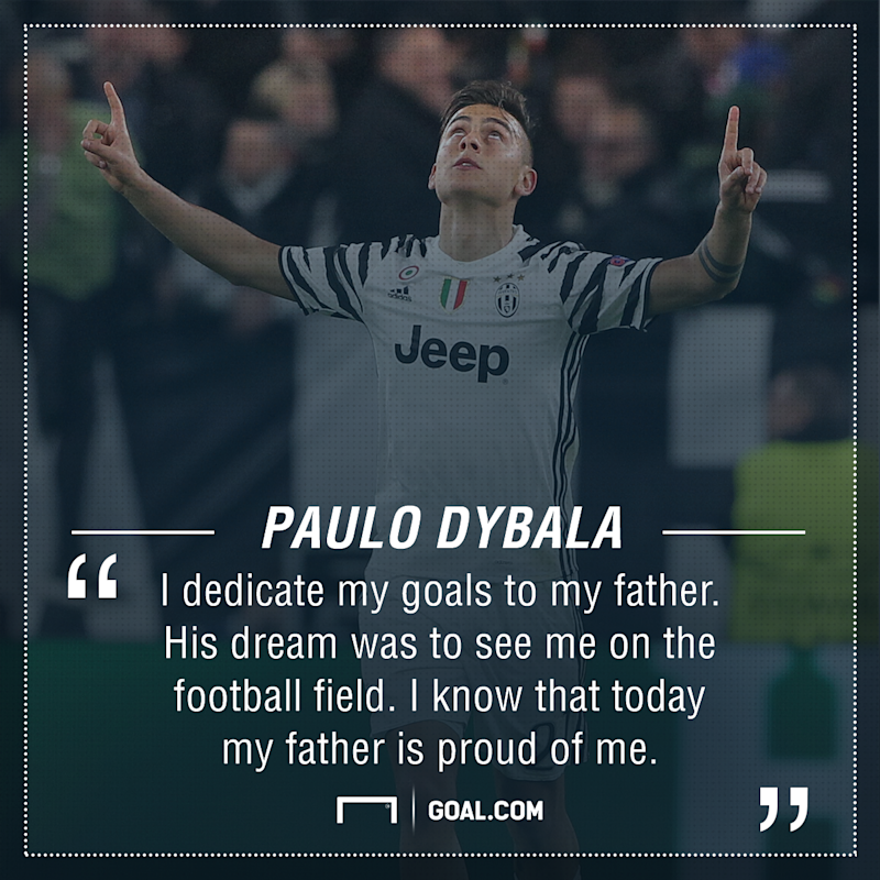 Paulo Dybala father PS