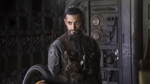 Riz Ahmed is the only Muslim actor to have a central role in the live-action Star Wars franchise
