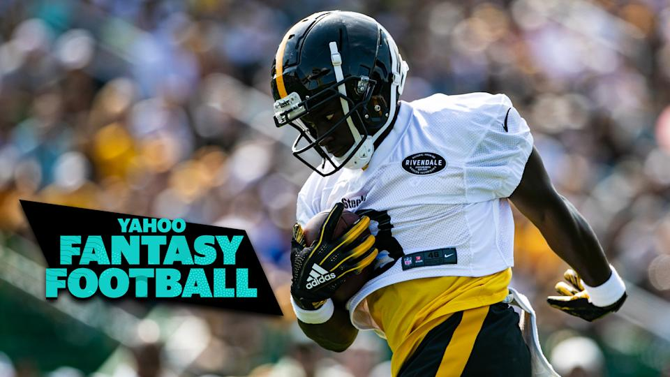 Pittsburgh Steelers WR James Washington made waves in his first preseason game of 2019. Liz Loza and Matt Harmon discuss his fantasy value on the latest Yahoo Fantasy Football Podcast. (Photo by Mark Alberti/Icon Sportswire via Getty Images)
