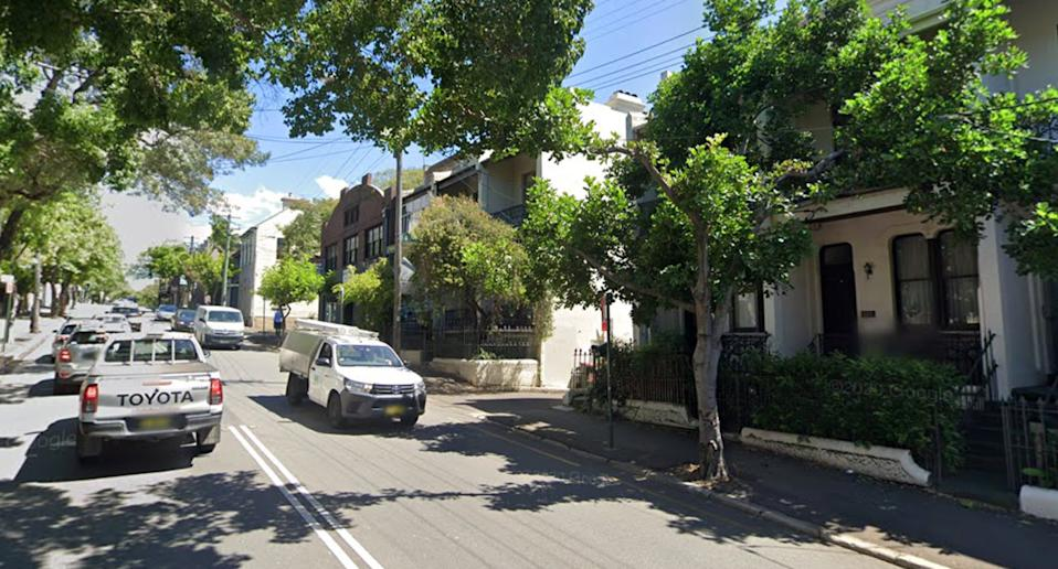 Photo shows a Google Map street view of Bridge Road in Glebe.