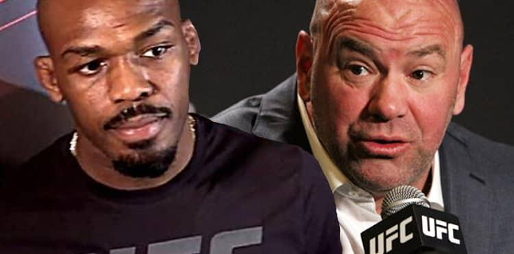 Jones Jones and Dana White
