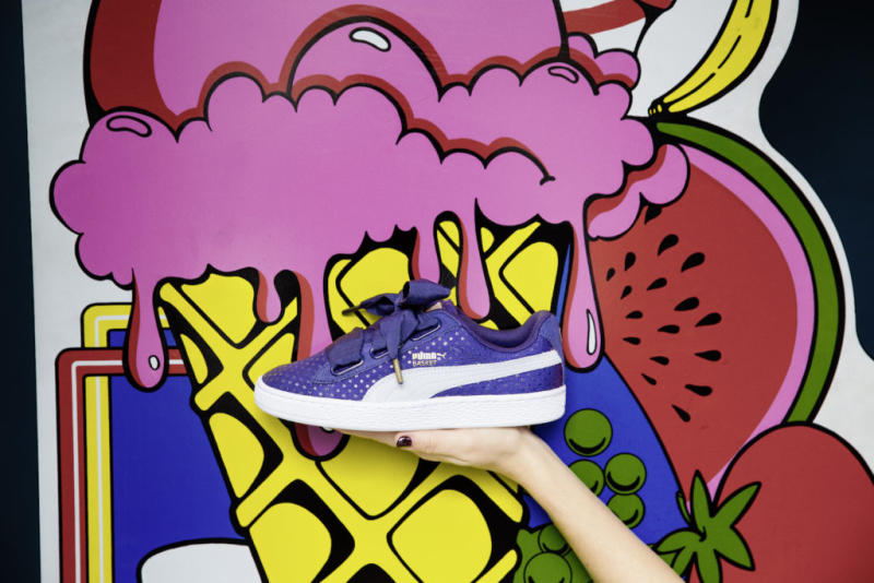 New Puma's Your For Heart Caters Denim Love Blue To Basket XkiZuPO