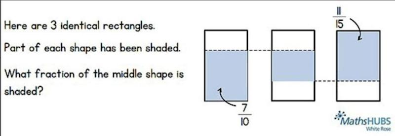 Could you solve these maths questions? Photo: Maths Hub - White Rose