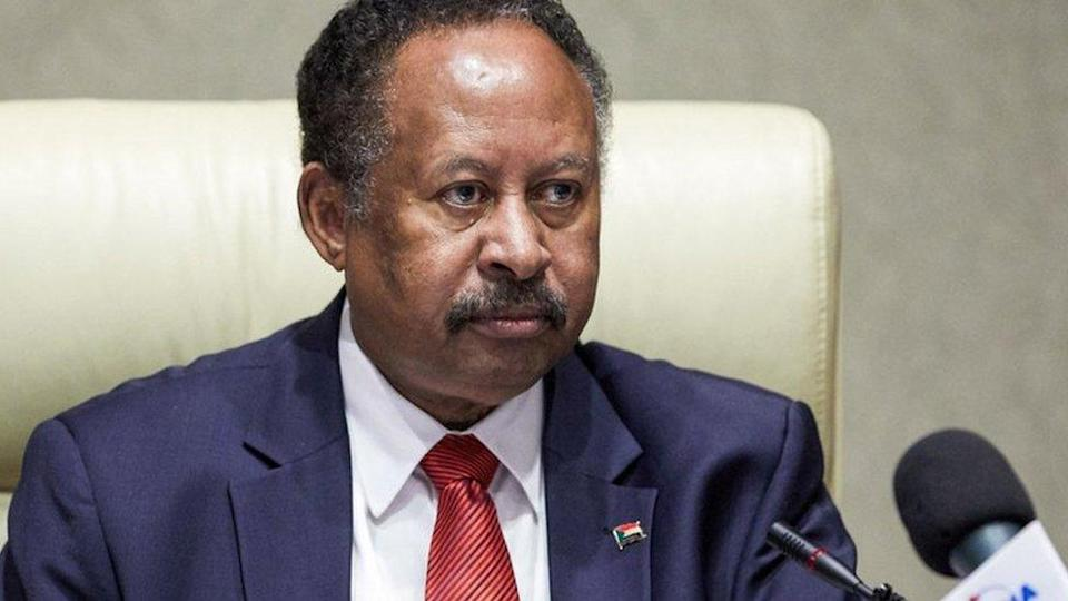 Prime Minister Abdalla Hamdok chairs a cabinet meeting on 21 September.