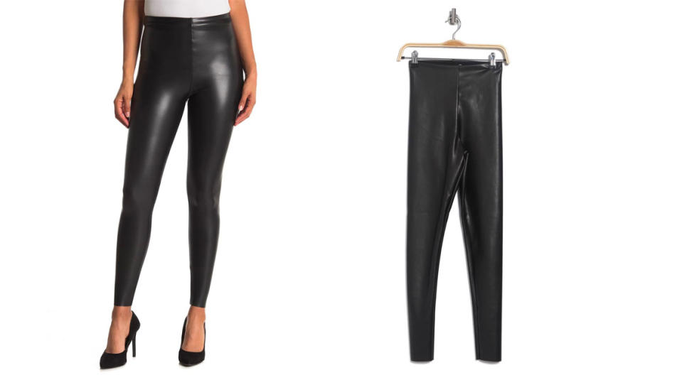 Seven7 Faux Leather Pull On Leggings is $36 off. (Photo: Nordstrom Rack)