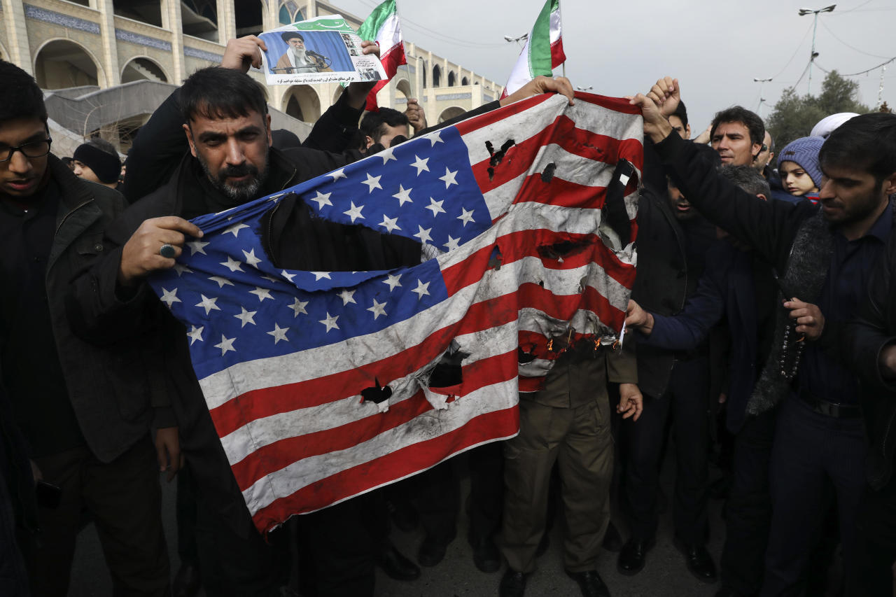"""Ex-CIA boss: """"There will be dead Americans"""" after Iran general killed"""
