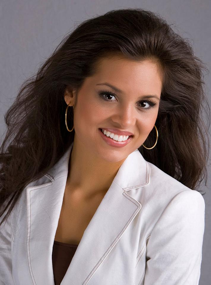 "Miss Mississippi, Christine Kozlowski, is a contestant in the <a href=""/miss-america-countdown-to-the-crown/show/44013"">Miss America 2009 Pageant</a>."