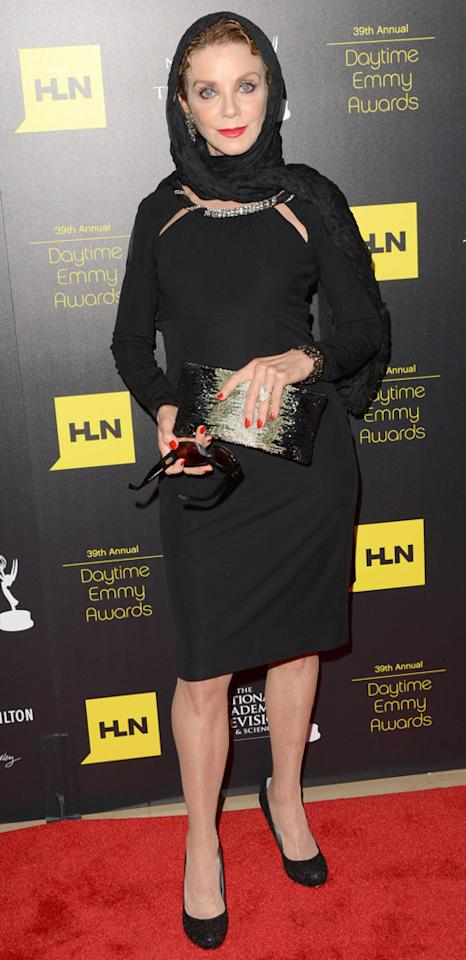 Judith Chapman arrives at The 39th Annual Daytime Emmy Awards held at The Beverly Hilton Hotel on June 23, 2012 in Beverly Hills, California.