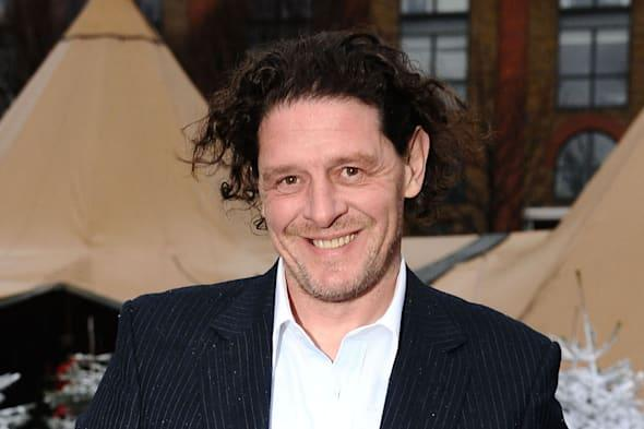File photo dated 02/12/2009 of chef and TV personality Marco Pierre White, who has agreed a franchise deal that will see around 50 of his restaurants rolled out across the UK over the next five years. PRESS ASSOCIATION Photo. Issue date: Sunday March 2, 2014. He has teamed up with hotel development company Sanguine Hospitality to expand his Marco Pierre White Steakhouse Bar & Grill and Marco's New York Italian eateries. See PA story CITY Marco. Photo credit should read: Ian West/PA Wire
