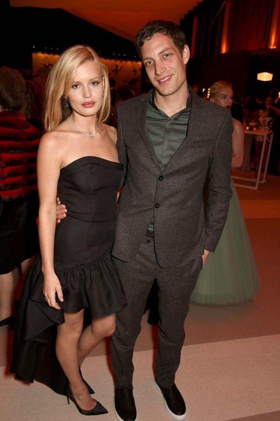 <p>James and Georgia May Jagger share a famous rockstar father—and it shows. The famous siblings were lucky enough to both get Mick Jagger's famous lips. </p>