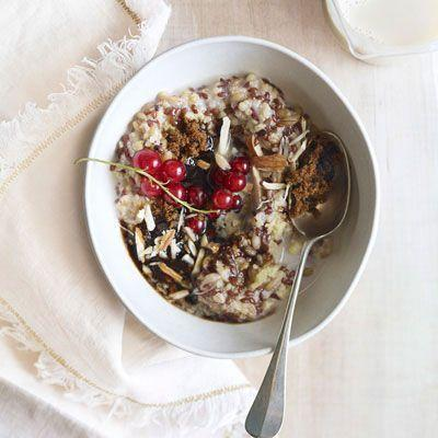 "<p>We love chai <em>anything—</em>especially this multigrain porridge, made here with oats, millet, spelt, and flaxseed.</p><p>Get the recipe from <a href=""/cooking/recipe-ideas/recipes/a14148/mixed-grain-cereal-chai-spice-recipe-opr0111/"" data-ylk=""slk:Delish"" class=""link rapid-noclick-resp"">Delish</a>. </p>"