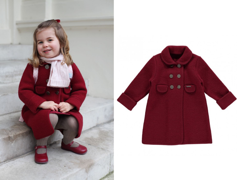 Images courtesy of Duchess of Cambridge, Amaia Kids.