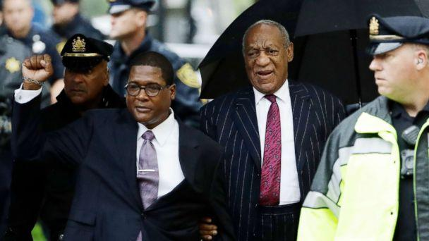 PHOTO: Bill Cosby arrives for his sentencing hearing at the Montgomery County Courthouse, Sept. 25, 2018, in Norristown, Pa. (Matt Slocum/AP)
