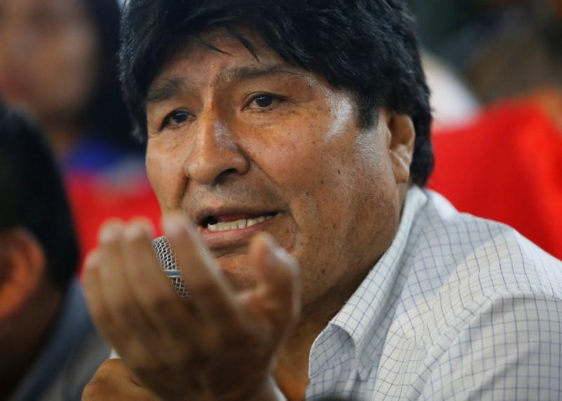 Morales announces candidates for MAS party in Bolivia's elections