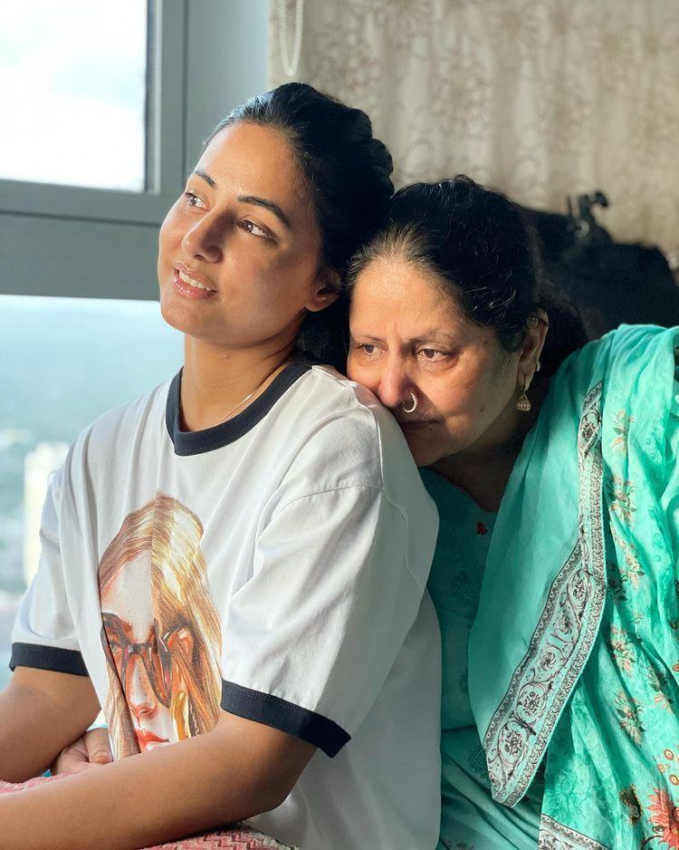 Hina and her mother