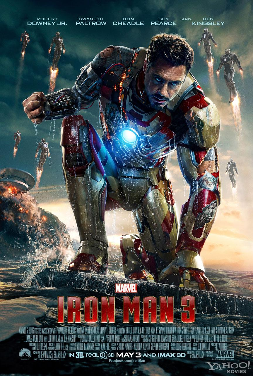 "Robert Downey Jr. as Tony Stark in Marvel Studio's ""Iron Man 3"" - 2013<br><br> <a href=""http://l.yimg.com/os/251/2013/02/27/ironman3-poster-watermark-jpg_162144.jpg"" rel=""nofollow noopener"" target=""_blank"" data-ylk=""slk:View the full size poster >>"" class=""link rapid-noclick-resp"">View the full size poster >></a>"