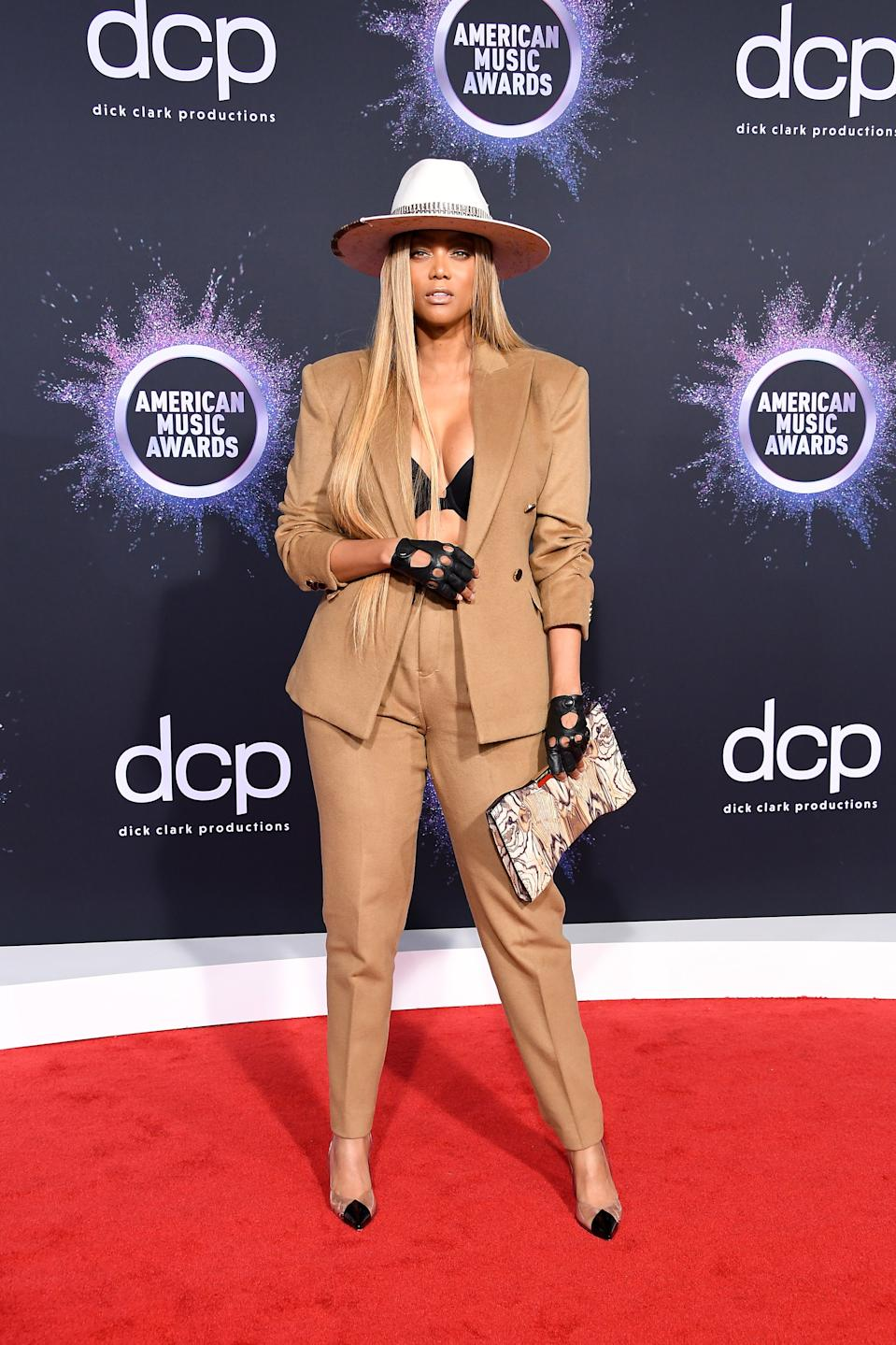 """<h1 class=""""title"""">Tyra Banks</h1><cite class=""""credit"""">Photo: Getty Images</cite>"""