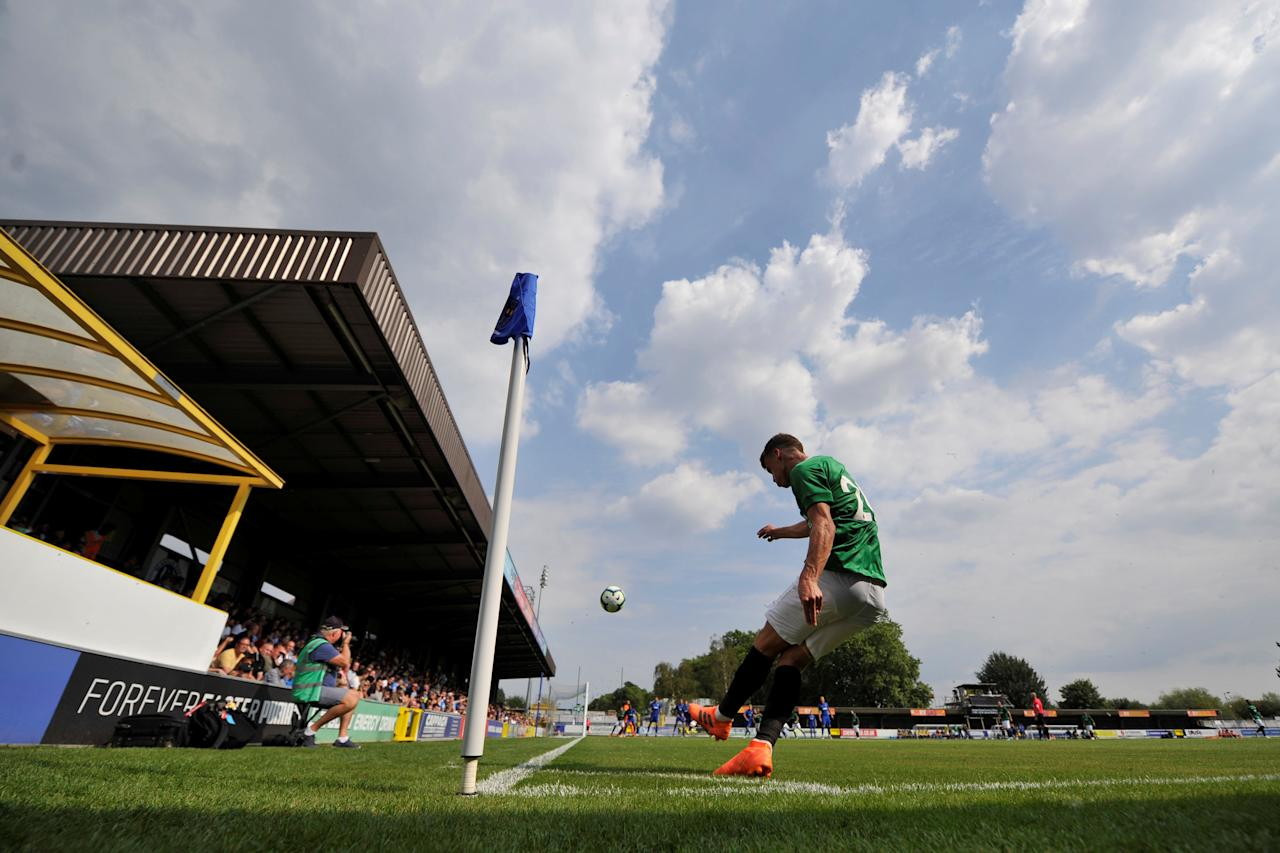 Soccer Football - Pre Season Friendly - AFC Wimbledon v Brighton & Hove Albion - The Cherry Red Records Stadium, London, Britain - July 21, 2018   General view during the match    Action Images via Reuters/Adam Holt