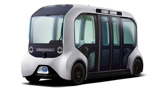 20 specially modified units of Toyota's e-Palette are to be deployed at the 2020 Olympic Games in Tokyo