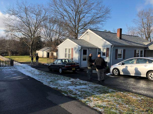 PHOTO: Police search Nathan Daniel Larson's home in Catlett, Va., Dec. 19, 2020, in a photo posted by the Fresno County Sheriff's Office. (Fresno County Sheriff's Office via Facebook)