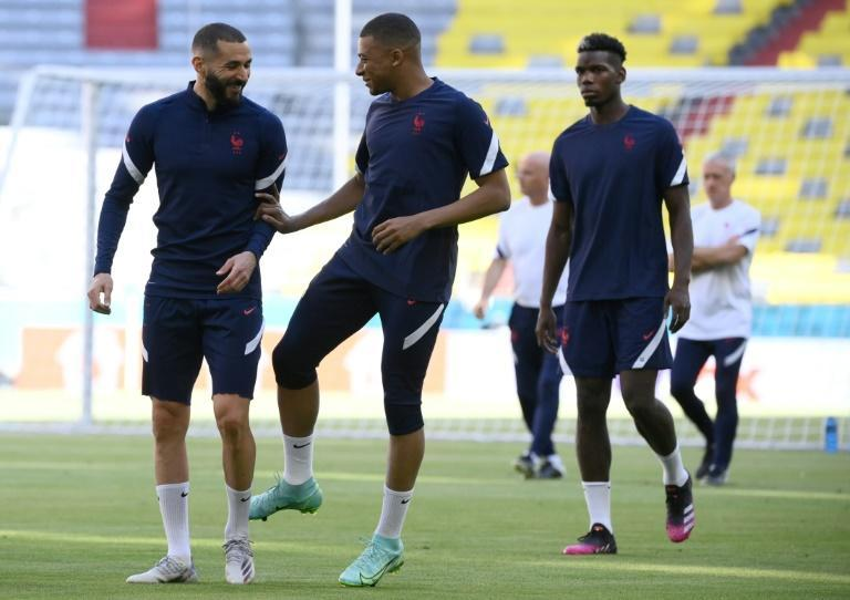 Karim Benzema, Kylian Mbappe and France are set to begin their bid for Euro glory against Germany in Munich