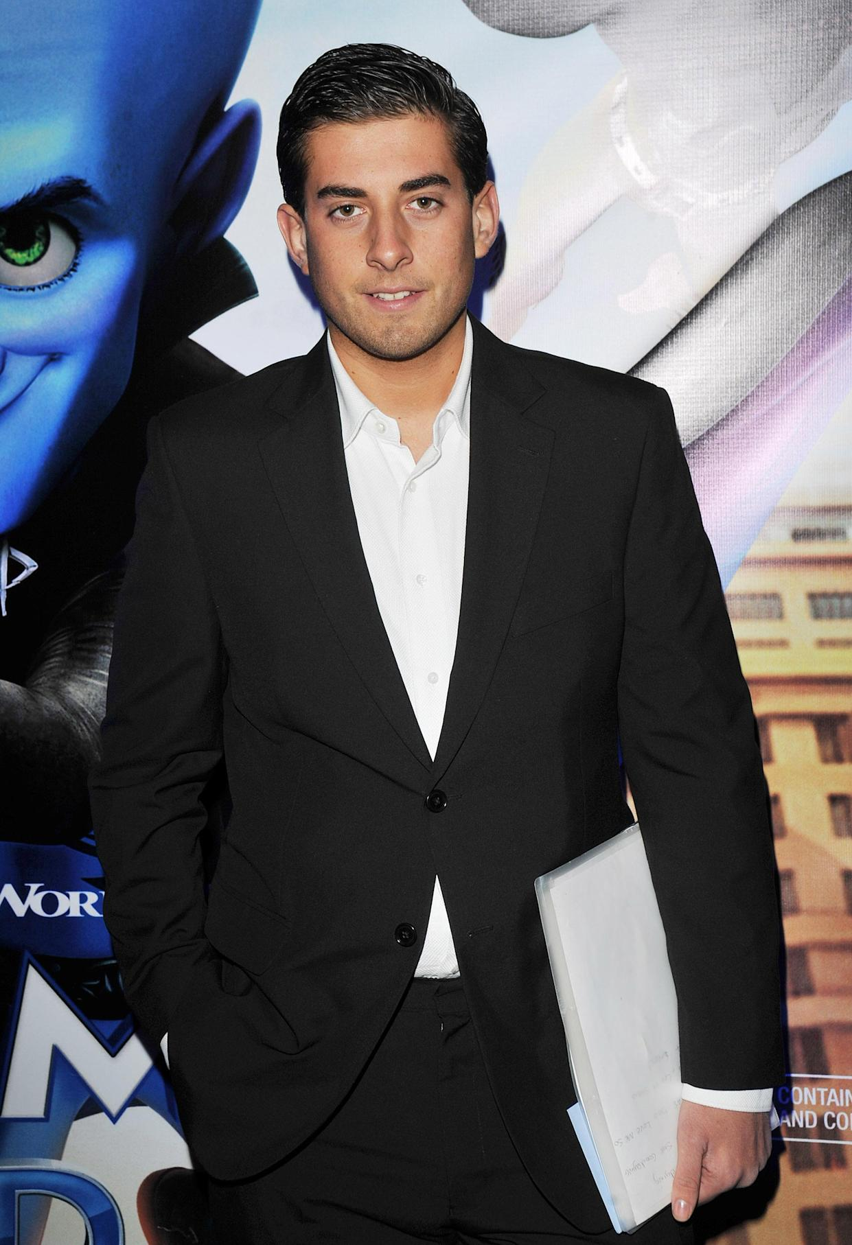 James Argent from TV show 'The Only Way Is Essex' attends the Megamind 3D Gala Screening at Vue West End on November 28, 2010 in London, England. *** Local Caption ***