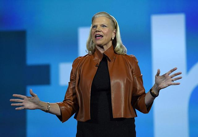 <p>No. 8: Northwestern University<br>Known UHNW alumni: 365<br>Combined wealth: $80 billion<br>Former grad and IBM Chairman, President and CEO Ginni Rometty is seen here. (Photo by Ethan Miller/Getty Images) </p>