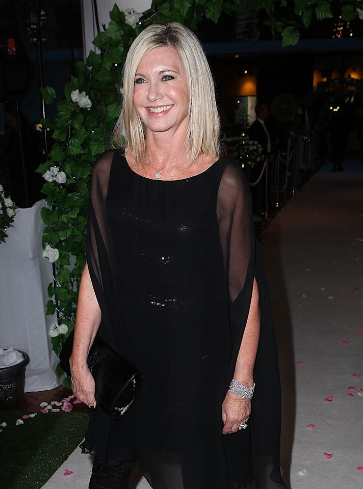 """""""Grease"""" star Olivia Newton-John has been very open about the disease she faced in 1992. In June, the 64-year-old talked about her experience on Anderson Cooper's talk show. """"I had fear <span style=""""font-size:11.0pt; """">–</span> it's normal to have fear <span style=""""font-size:11.0pt; """">–</span> but I kind of made the decision early on that I was going to be OK, because I had a young daughter and ... for me there was no other choice. I think that positive thinking is important to help you through the whole thing, and I'm just very grateful that I'm OK."""" (1/16/2012)"""