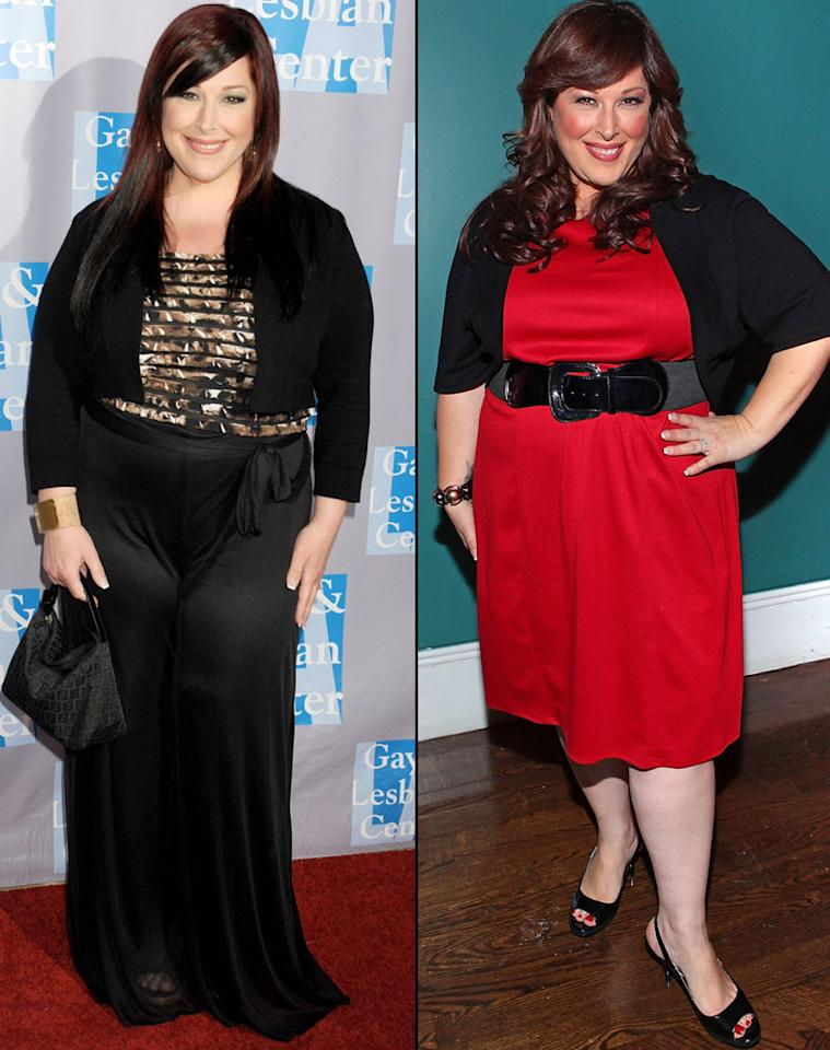 """No celebrity has yo-yo'd like Carnie Wilson. As the heavy-set member of Wilson Phillips, she underwent gastric bypass in 1999 and lost an astounding 150 pounds. But after two pregnancies, the singer gained back nearly every bit, so in January, she had her second lap band surgery – even though Wilson Phillips was in the middle of a touring schedule. Her bandmates Chynna Phillips and Wendy Wilson """"have seen me go up and down with emotions about this, up and down in weight, and they've always been supportive,"""" Carnie tells omg!. """"I think we all just want to be healthy."""" And it appears to be paying off! On the left is Carnie this month, and she looks much more trim than she did in December 2010."""