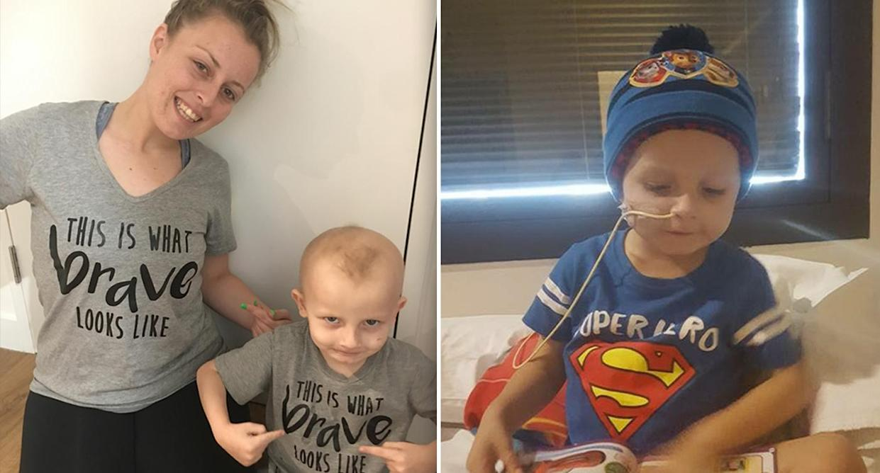 Hannah White said she is now trying to make son Joshua Oakhill's final months as enjoyable as possible. Images: Supplied