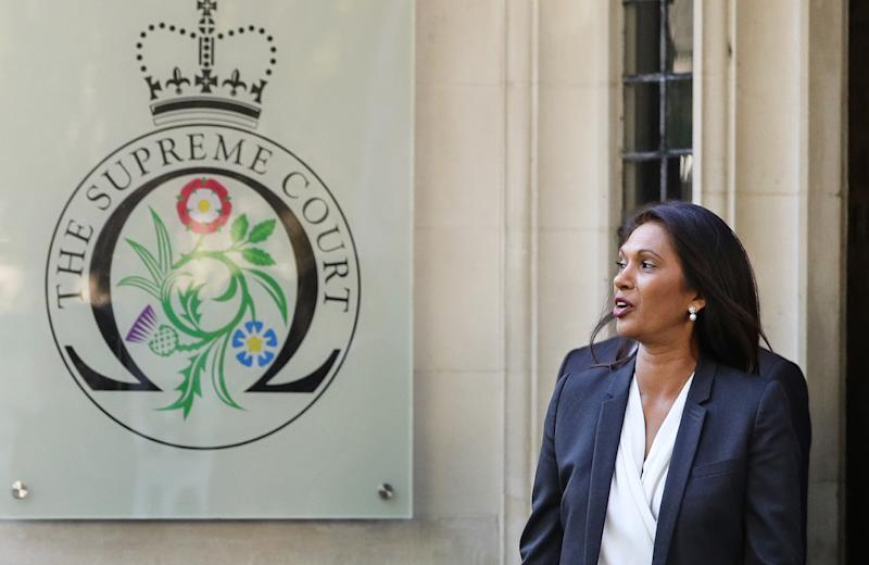 Businesswoman Gina Miller appealed a previous High Court ruling at the Supreme Court (Picture: PA)