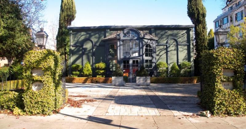 """Palantir office known as the """"Jewel Box"""" in Palo Alto, California."""