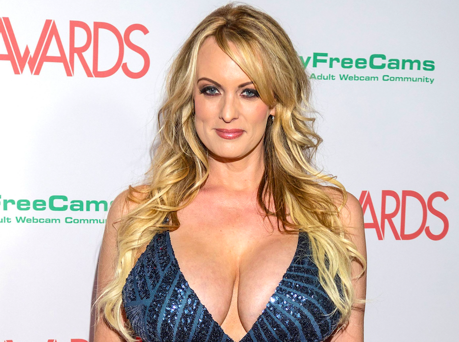 <em>Stormy Daniels is suing Donald Trump over a nondisclosure agreement (Rex)</em>