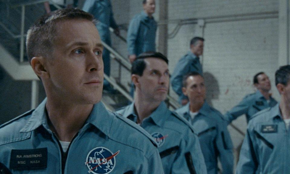 <p>Damien Chazelle follows-up <em>La La Land</em> with this biopic about Neil Armstrong and his journey to becoming the first man on the moon. Claire Foy, and Jason Clarke co-star in the period drama. </p>