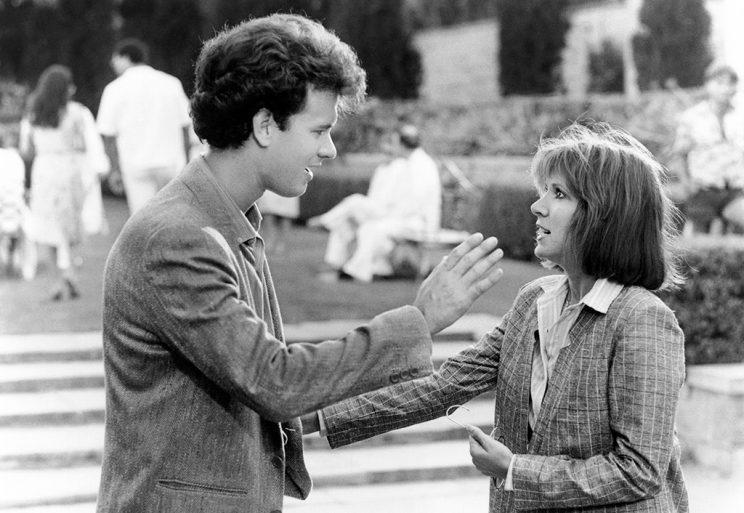 <p>Another role with Tom Hanks in 1985. (Photo: Everett Collection)</p>