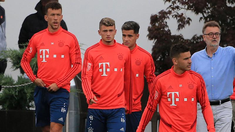 GER ONLY Perisic Coutinho Cuisance Hernandez Bayern