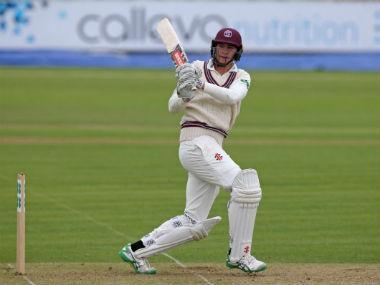 Australia opener Matt Renshaw's superb start in county cricket continued on Saturday when he scored a hundred before lunch for Somerset against Yorkshire – his second century in as many matches