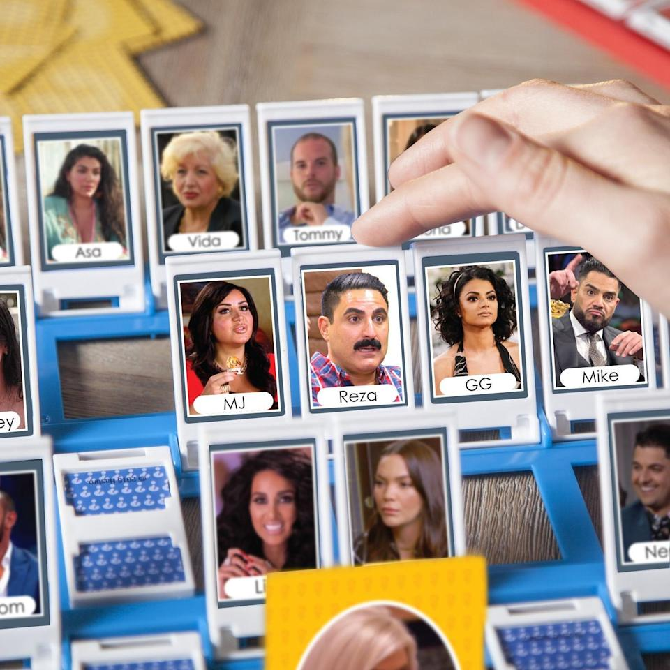 <p>Play <span>Guess Who? Shahs Edition</span> ($5) and test out your <b>Shahs of Sunset</b> memory. </p>