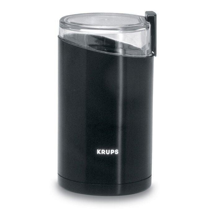 """<h2>Best Affordable Coffee Grinder<br></h2><br><h3>Krups Fast-Touch Coffee and Spice Grinder</h3><br>If you only drink coffee here and there or are not devoted to brewing the best cup in history, may we suggest this cost-effective treasure? Krups is wildly praised for its line of coffee makers and accessories, and this one just happens to be only $20. <br><br><strong>Type</strong>: Blade<br><br><strong>The Hype:</strong> 4.5 out of 5 stars and 44 reviews on <a href=""""https://www.surlatable.com/fast-touch-grinder-black/1444132.html"""" rel=""""nofollow noopener"""" target=""""_blank"""" data-ylk=""""slk:Sur La Table"""" class=""""link rapid-noclick-resp"""">Sur La Table</a><br><br><strong>Rise & Grinders say</strong>: """"Been using this for my morning French Press beans, and it is so straightforward and easy to use to one's needs. I haven't done any super deep cleaning of it yet but the design makes me think that'll be easy — all the surfaces inside are easy to access and clean out as needed.""""<br><br><em>Shop <strong><a href=""""https://www.surlatable.com/fast-touch-grinder-black/1444132.html"""" rel=""""nofollow noopener"""" target=""""_blank"""" data-ylk=""""slk:Sur La Table"""" class=""""link rapid-noclick-resp"""">Sur La Table</a></strong></em><br><br><strong>Krups</strong> Fast-Touch Coffee and Spice Grinder, $, available at <a href=""""https://go.skimresources.com/?id=30283X879131&url=https%3A%2F%2Fwww.surlatable.com%2Ffast-touch-grinder-black%2F1444132.html"""" rel=""""nofollow noopener"""" target=""""_blank"""" data-ylk=""""slk:Sur La Table"""" class=""""link rapid-noclick-resp"""">Sur La Table</a>"""