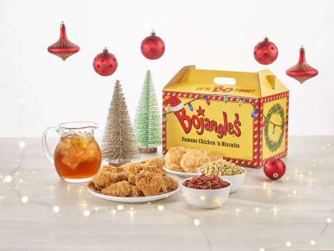 Bo Bo Bo! Bojangles'® Spreads Cheer with New Holiday-Themed Big Bo Box®
