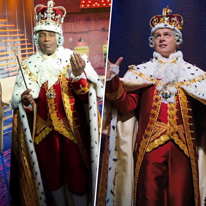 TODAY Show Halloween 2020: TODAY Show Halloween 2020: Al Roker as King George from
